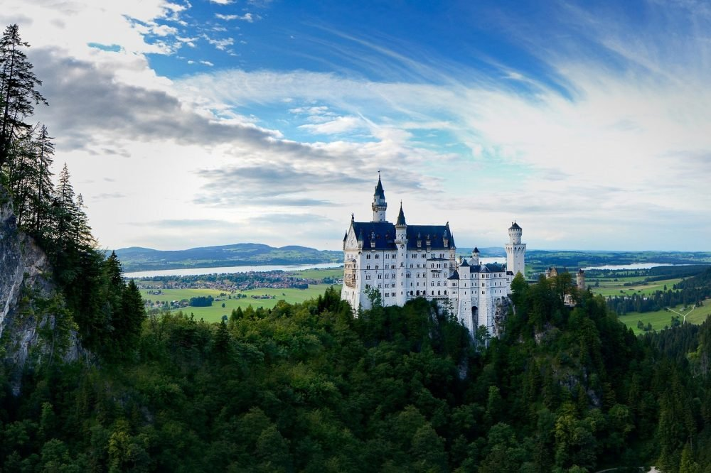 Most instagrammed castles in Germany.
